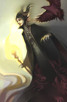 Maleficent by MaGLIL