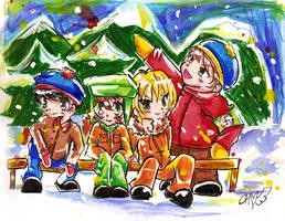 .::south park boys::. by alola-chuu
