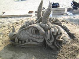 Sand Dragon Profile Left by Suzuko42