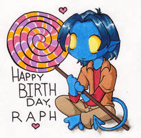 Happy Birthday, Raph by BlazeRocket