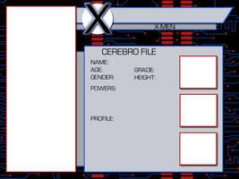 X-Men OC Template by BlazeRocket