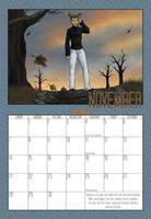 2010 Calendar - November by BlazeRocket