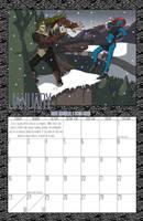 2011 Calendar - January by BlazeRocket