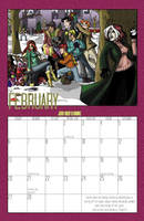 2011 Calendar - February by BlazeRocket