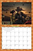 2011 Calendar - October by BlazeRocket