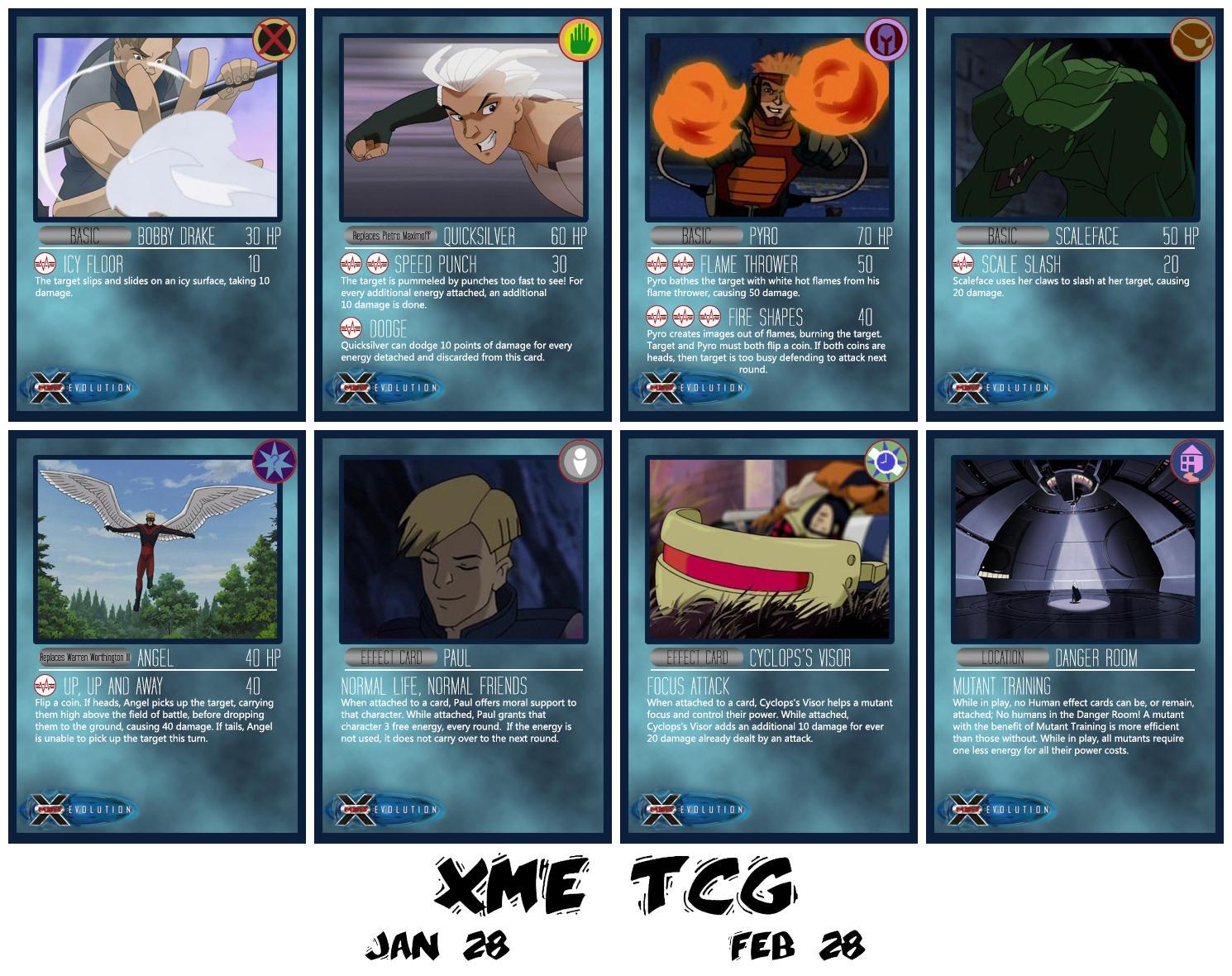 CONTEST: XME TCG by BlazeRocket