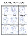 Blushing Meme: Pietro by BlazeRocket