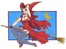 Sexy Witch by BlazeRocket