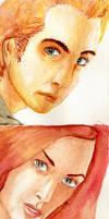 X-men Watercolours -HUGE FILE- by BlazeRocket