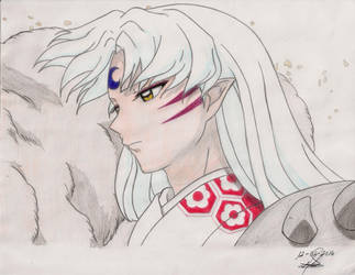 Lord Sesshomaru by Andreina96