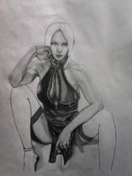 In process Nina Williams Part II by Andreina96