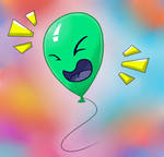 Laughing Balloon by Cruel7Rose
