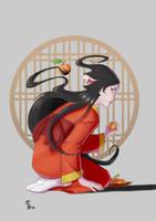 Futakuchi onna by Scova8