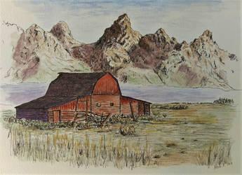 Mountain Morning by akarudsan