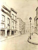 Some old street by akarudsan