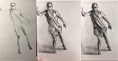 Figure sketch progression 06012018 by akarudsan