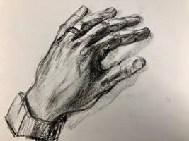 My hand by akarudsan