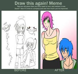 Improvement Meme! by DarkxNeo