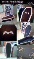 Monster High Draculaura coffin by tirsden