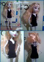 Luna's Little Black Dress by tirsden