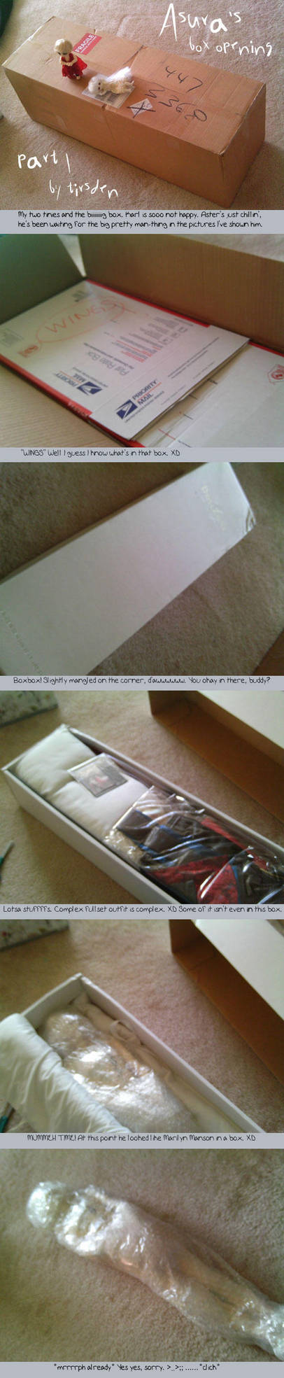 Asura's box opening part 1 by tirsden