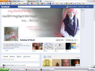Facebook Timeline: Pink Jareth Edition by tirsden