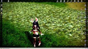 Ninja Jareth (Tera Elin) Desktop by tirsden
