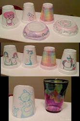 PT Rehab Styrofoam Cup Art 1 by tirsden
