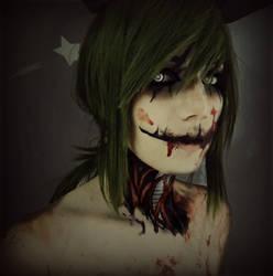 SpringTrap cosplay MakeUp (Humanized) by HazyCosplayer