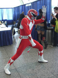 RED Ranger by zerosouls