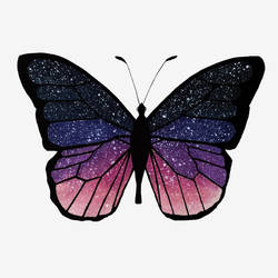 Galaxy butterfly by TheClumsyFellow