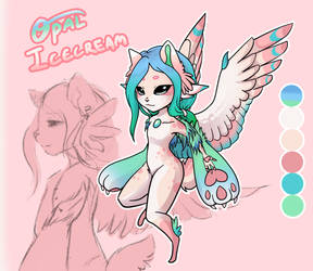 [Draw To Adopt, CLOSED] Fatebringer - Opal by Kastraz