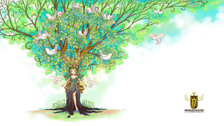 Tree of Virtue by princefighter