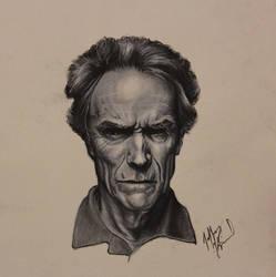 Clint Eastwood by Jkim34
