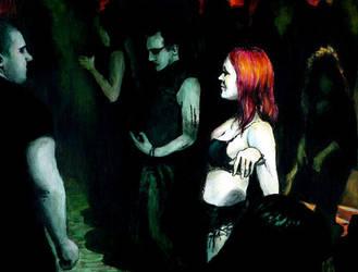 Redhead - Nightclub No.2 by Valerian