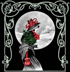 Yule Maiden by Valerian
