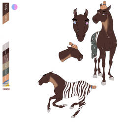 horse for adopt by meatyisgods