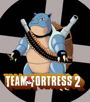 Blastoise the Heavy by Harijizo