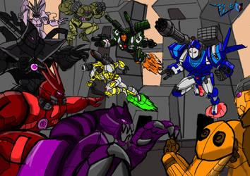 Trigger Lock Brigade VS  COMBOS elites by Deadman0087