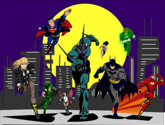 Guyver  joins The Justice League by Deadman0087