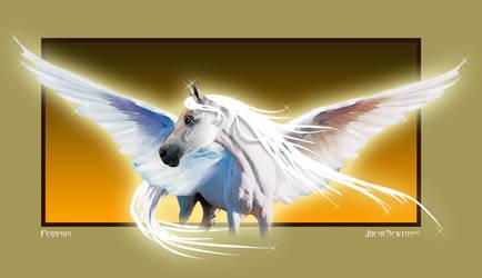 Pegasus by JaemeNewton