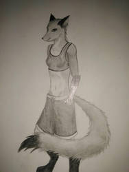fox girl by Oninekko