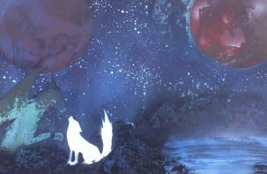 meeting among the stars. by Oninekko