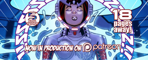 HOODRATZ IN SPACE issue #5 is only 18 pages away! by erockalipse