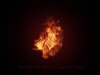 Fire Tiger by slipie