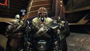 Klingon Honor Guard Uniforms by Wyrdrune