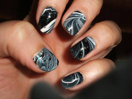 Black n White Marble by lettym
