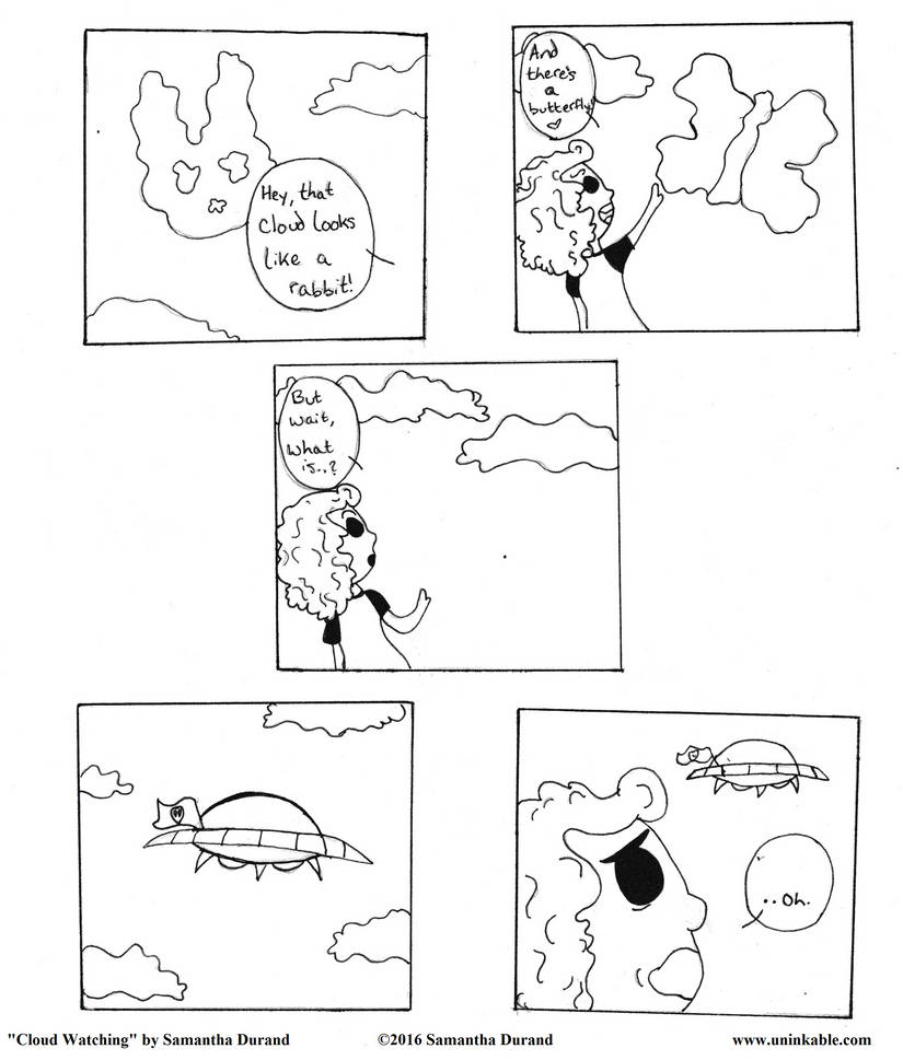Cloud Watching by UnInkable-Arts