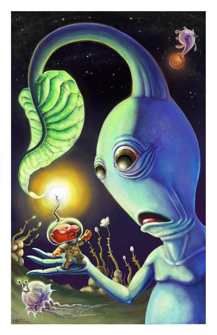 Olimars en Serie by Ammonite-Amy