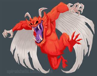 Mean Ol' Mr. Satan by Ammonite-Amy